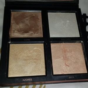 Huda beauty 3D highlight palette pink sands